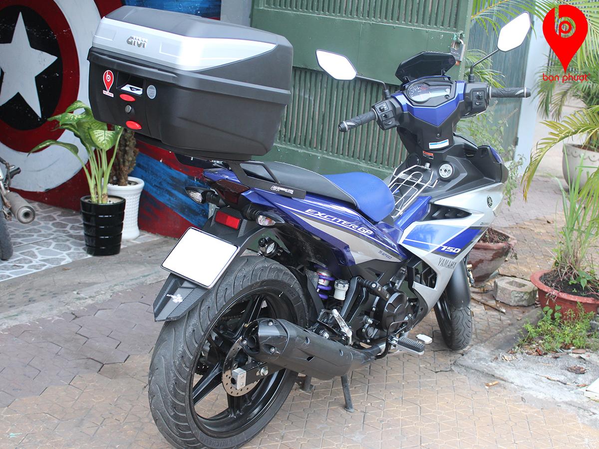 Baga gắn thùng đựng đồ cho exciter 150