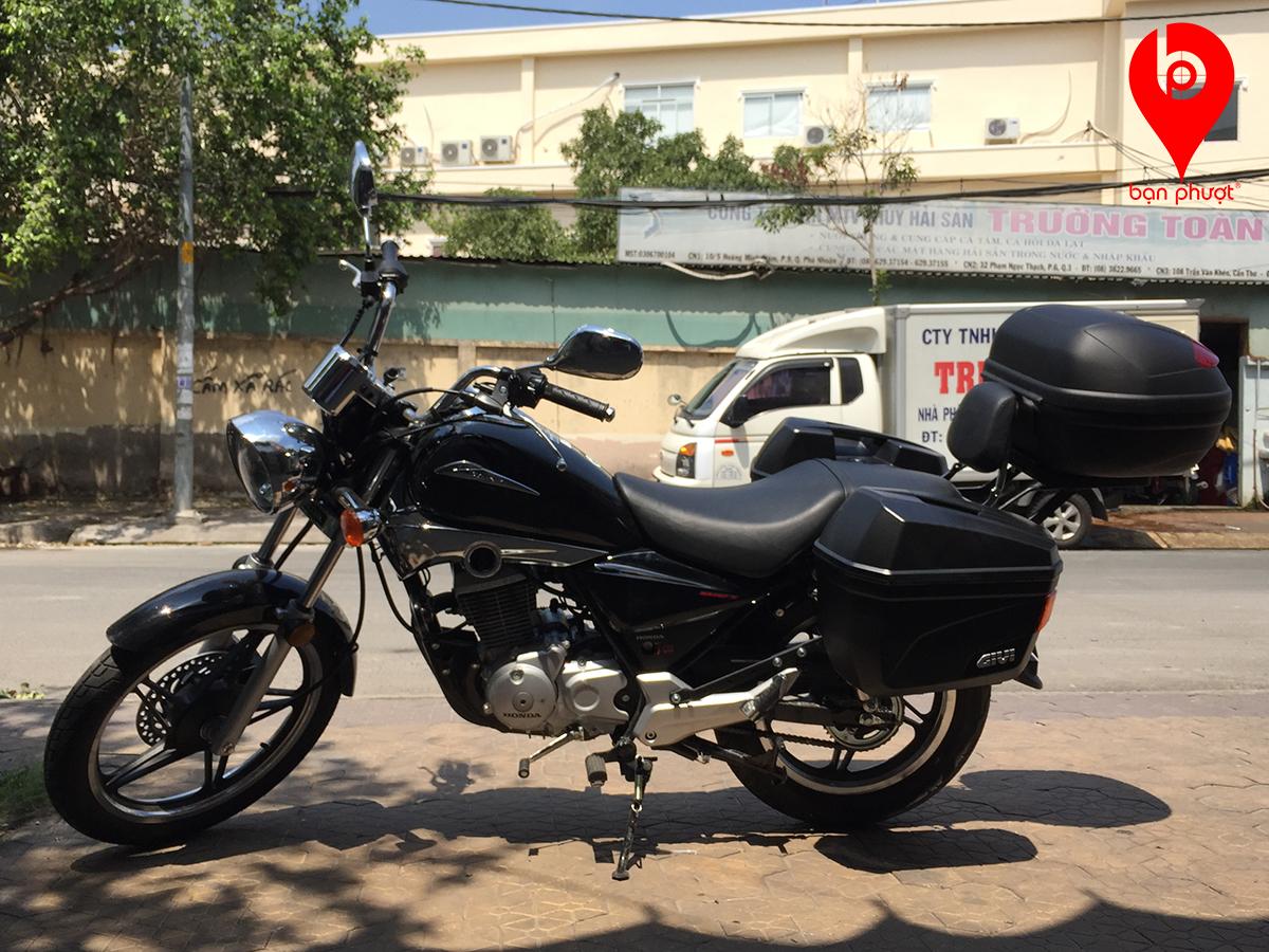 Thùng đựng đồ cho Honda Shadow