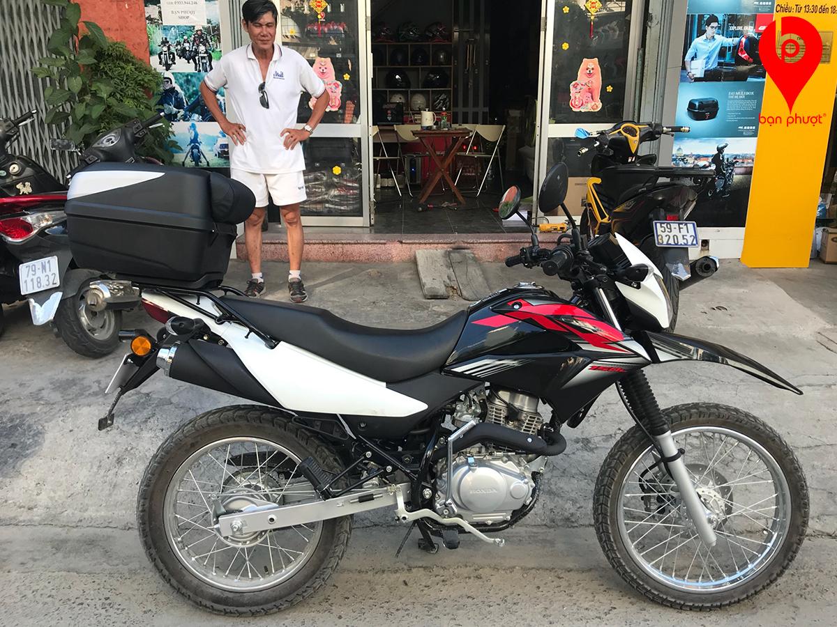 Thùng đựng đồ cho Honda XR