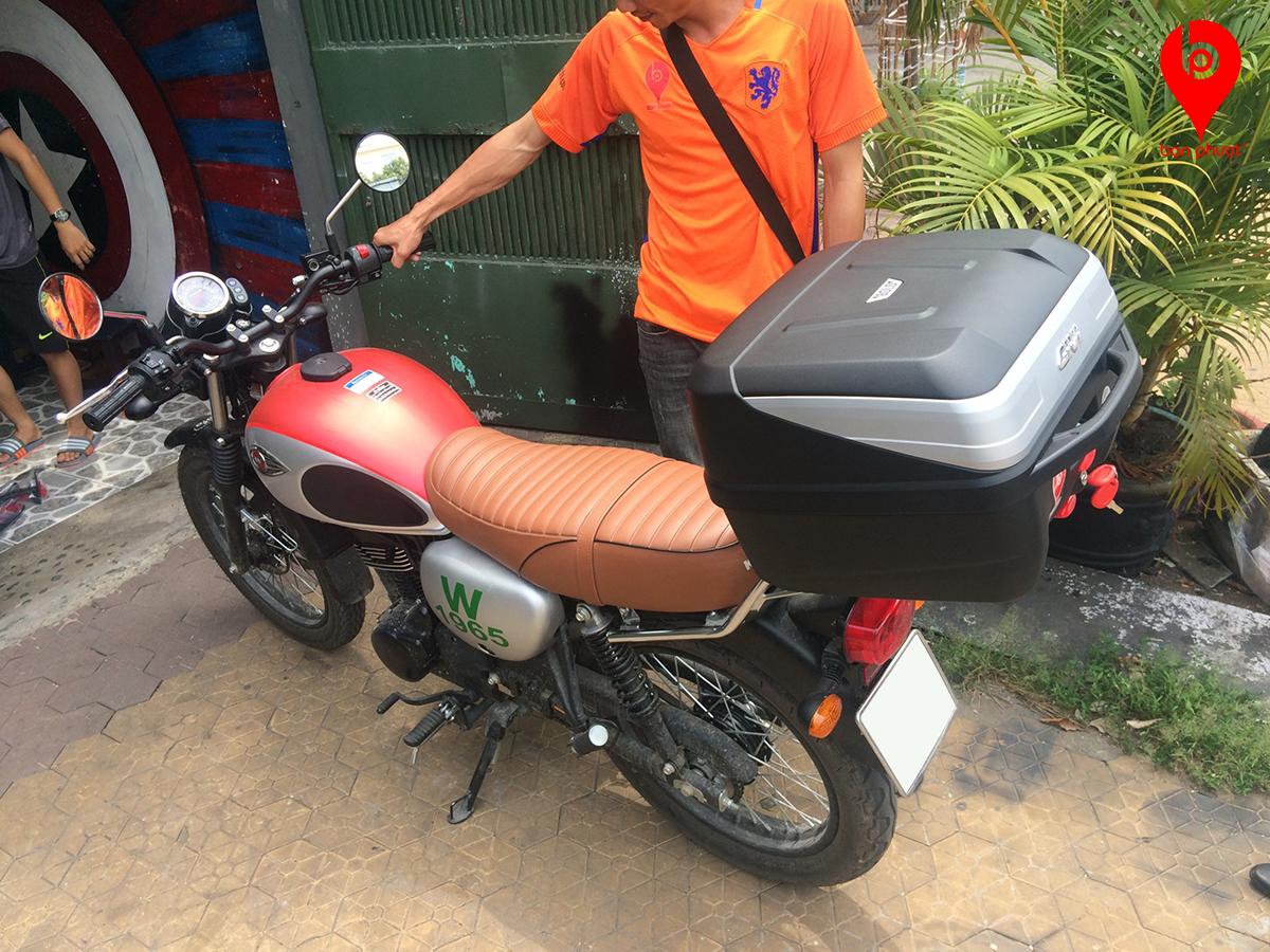 Thùng đựng đồ cho Kawasaki W175