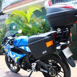 Thùng đựng đồ cho Suzuki GSX R150
