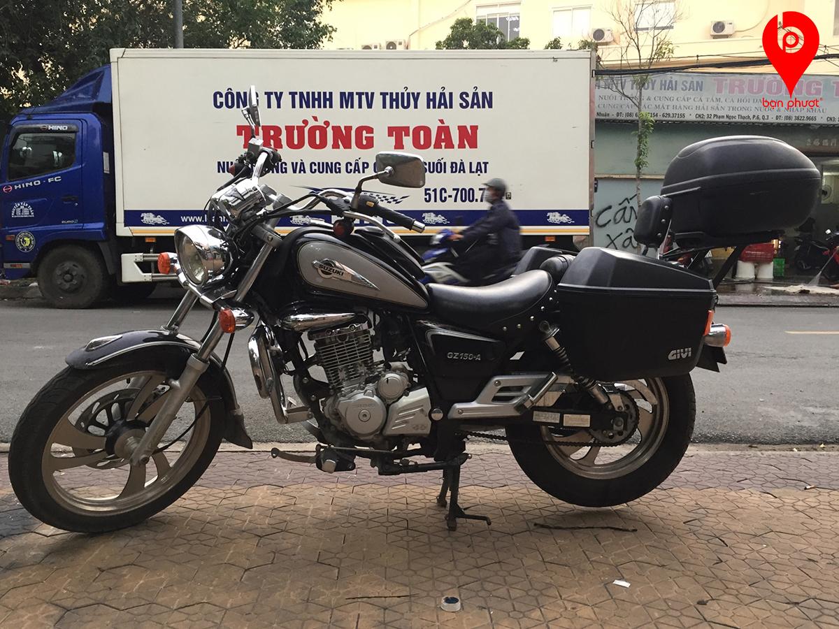 Thùng đựng đồ cho Suzuki GZ150