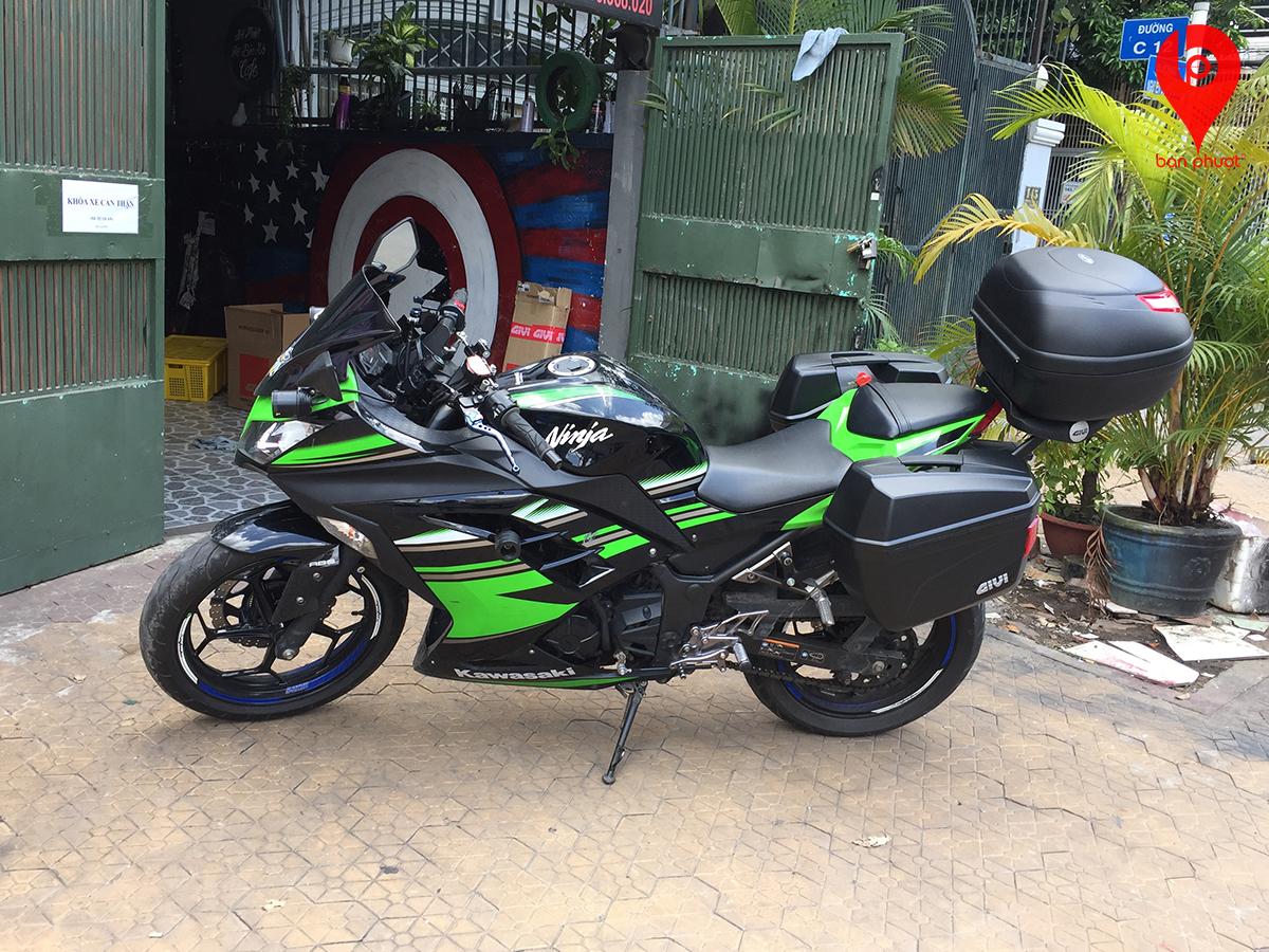 Thùng đựng đồ cho Kawasaki Ninja 300