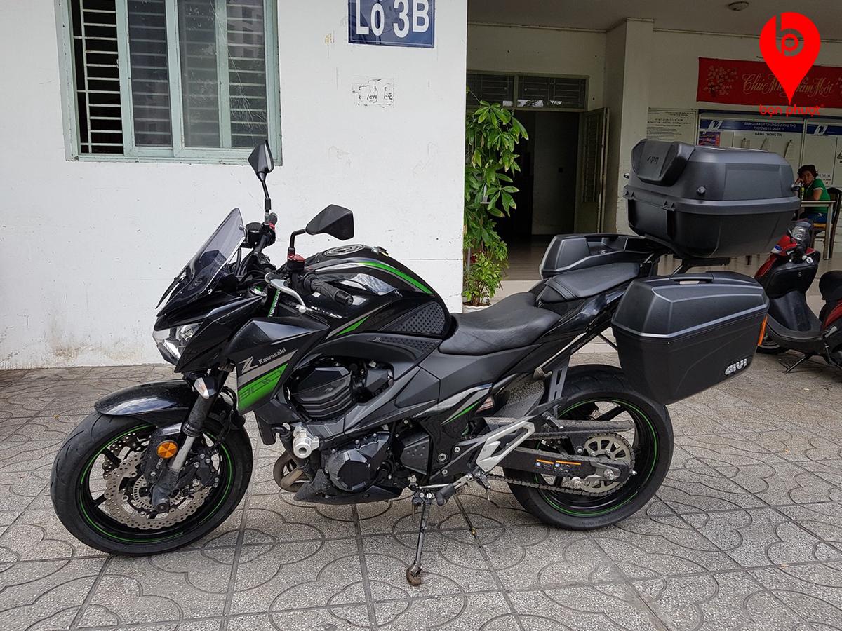 Thùng đựng đồ cho Kawasaki Z800