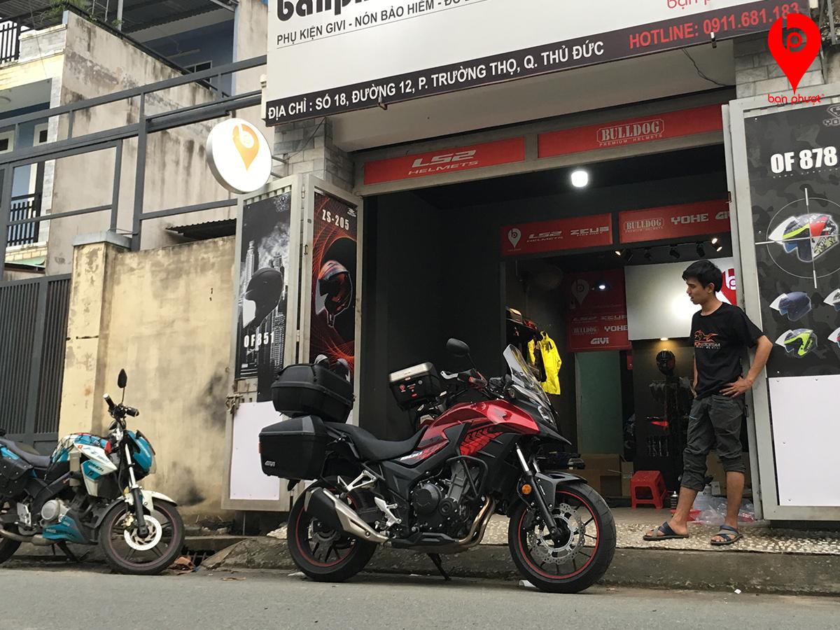 Bộ thùng sau xe Honda CB500X