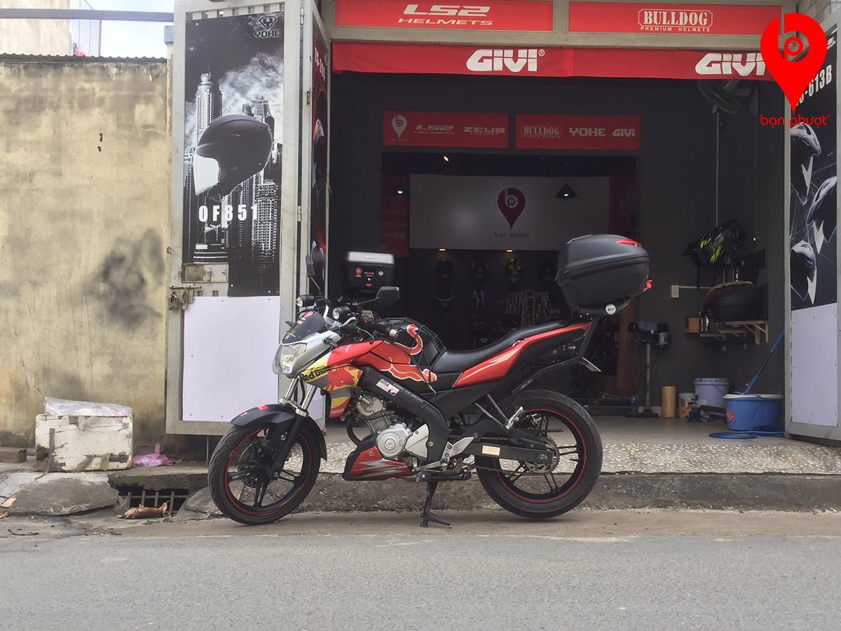 Baga Givi cho Yamaha Fz150i