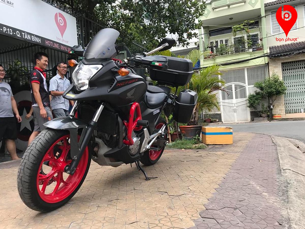 Bộ thùng Givi cho Honda NC700X