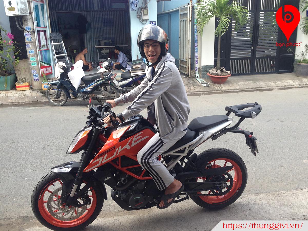 Baga Givi cho KTM 2018