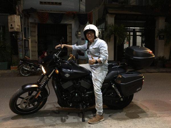 Thùng Givi cho Harley Davidson Street 750