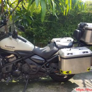 Kawasaki Vulcan S650 Gắn Bộ Thùng DOLOMITI