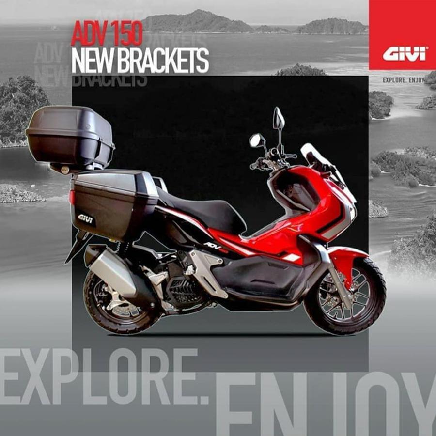 Honda AVD Trang Bị Thùng GIVI