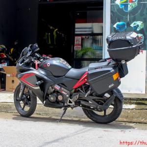 Gắn thùng GIVI Cho Honda CBR150
