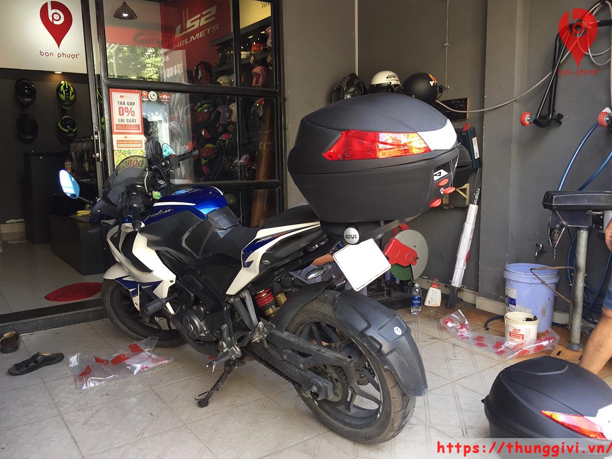 Baga GIVI Cho Pulsar 200 RS